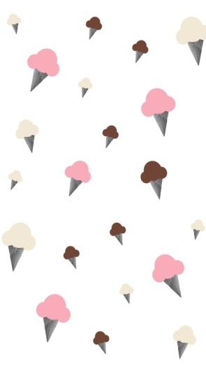 ice cream iphone homescreen